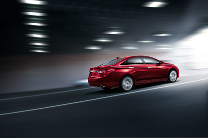 2012 Hyundai Sonata red