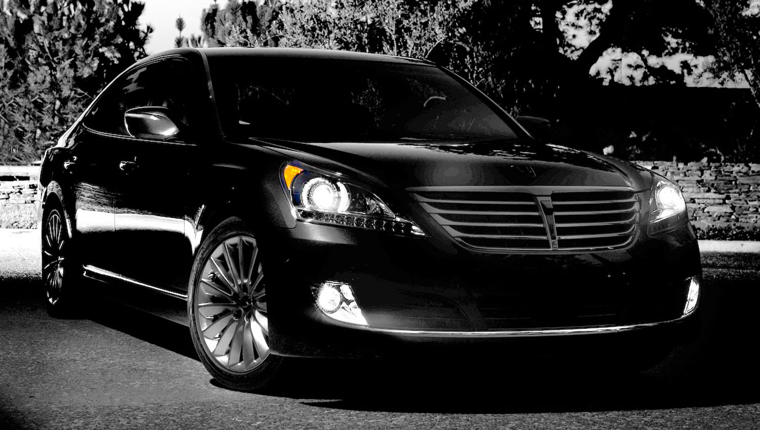 2014 Hyundai Equus teaser photo