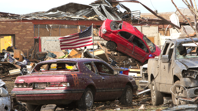 Moore, OK tornado damage/REUTERS/Richard Rowe