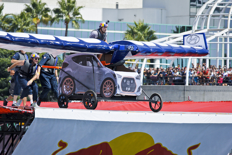 Hyundai at Red Bull Flugtag 2013 / image courtesy:  Long Beach Post